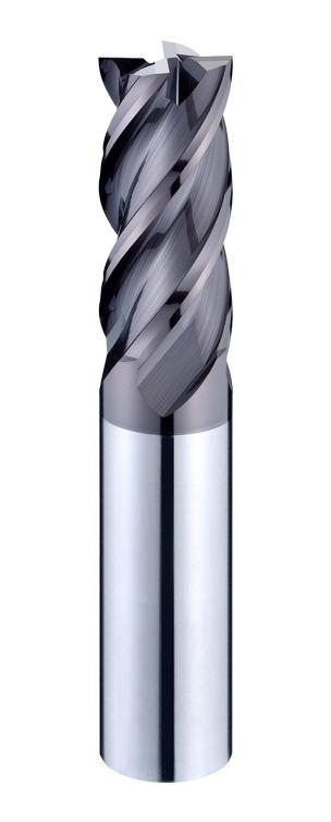 4BDO Irregular Helix Flutes Titanium Alloy / Nickel Alloy High Performance End Mills