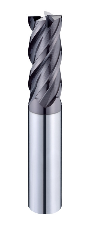 4XSO Irregular Helix Flutes High Performance Heavy Cutting 4 Flutes End Mills