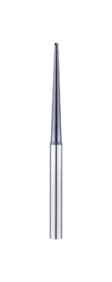 2UVA-B Long Taper Neck 2 Flutes Ball Nose End Mills